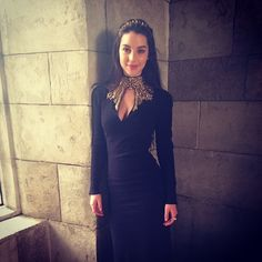 Casual Thursday in the castle... @reigncostumes @worldmcqueen #bestjobever #fashionsmashin