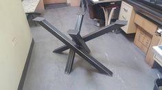 Non-Standard Modern Table X Table legs Model