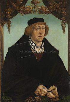Hans Wertinger: Pfalzgraf Philipp, Bischof von Freising (1480-1541). 1515