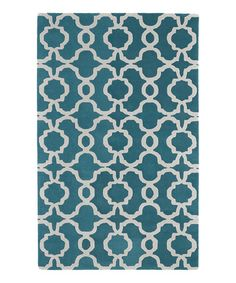 The hand tufted Kaleen Revolution Trellis Rug features a contemporary trellis pattern in white on a vibrant ground. A velvety soft finish makes it comfortable underfoot and enhances your modern décor with geometric style. Teal Rug, Teal Area Rug, White Area Rug, Trellis Rug, Trellis Pattern, Kaleen Rugs, Moroccan Area Rug, Rectangle Area, Contemporary Area Rugs