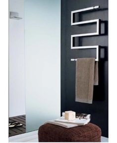 modern towel warming bars and hooks by Quality Bath
