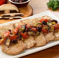 Olive Garden Veal Scaloppini