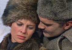 """In one of his iconic roles, Sharif played Yuri Zhivago, a medic and a poet, who is torn between family life and his passion for Lara (Julie Christie) in """"Dr. Zhivago"""" (1965)."""