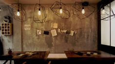 Group seating at Spoon Eat + Drink Kubota, Track Lighting, Collaboration, Spoon, Restaurant, Ceiling Lights, Drink, Group, Eat