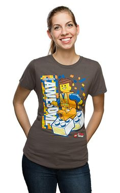 Everything is Awesome Fitted Ladies' Tee