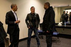 Obama, Bruce Sprinsteen & Jay-Z
