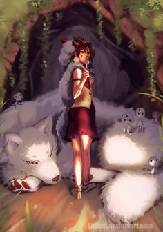 Princess Mononoke by Lillkun on DeviantArt