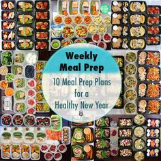 Healthy New Year: 2016 Meal Prep Round Up - Peanut Butter and Fitness Healthy Meal Prep, Healthy Eating, Healthy Recipes, Healthy Lunches, Fun Recipes, Healthy Dishes, Detox Recipes, Healthy Nutrition, Healthy Food