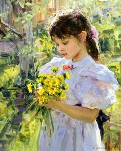 Bouquet of Dandelions | Elena Salnikova