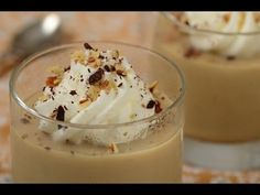 Butterscotch Pudding Recipe Ingredients: Milk (fresh) cup Brown Sugar cup Cornflour 3 tbsp Fresh Cream cup Vanilla essence 2 tsp Salt tsp But. Pudding Desserts, Pudding Recipes, Dessert Recipes, Delicious Desserts, Yummy Food, Custard Pudding, Butterscotch Pudding, Sweet Tooth, Cooking Recipes