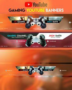 Games YouTube Banner by youtubebanners Youtube Banner Design, Youtube Banner Template, Design Youtube, Youtube Banners, S Youtube, Youtube Logo, Youtube Banner Backgrounds, Thumbnail Design, Instagram Banner