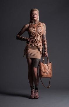 Domineering Leather Harness Collections : Zana Bayne Leather 2014