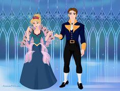 Princess Rosella (Ro) and Prince Antonio from Barbie as the Island Princess