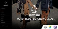 Lifestone WordPress Responsive Blog Theme