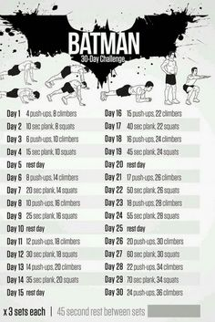 Neila Rey's Batman Challenge – Coregasms – By Women For Women – Coregasms By Women For Women 12 1 RicardoLH Running Pin it Send Like Learn. Fitness Workouts, Hero Workouts, Fitness Herausforderungen, Gym Workout Tips, Workout Challenge, At Home Workouts, Workout Plans, Neila Rey Workout, Movie Workouts