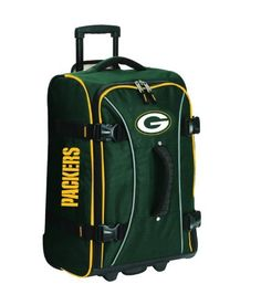 NFL Green Bay Packers Wheeled Hybrid 21-Inch Luggage by ATHALON. Save 71 Off!. $69.79