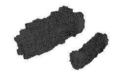 Re-design of #ork ships for #bfg  #battlefleetgothic #battlefleet #gothic #sketchup