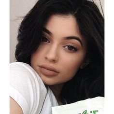 You Know You Want to See Kylie Jenner's New Lip Kit Shade InStyle.com ❤ liked on Polyvore featuring people