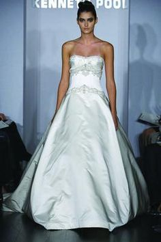 If you win our Pin to Win Dream Dress Giveaway, you could pick this Kenneth Pool Majesty (or any of our over designer wedding dresses! Bohemian Wedding Dresses, Used Wedding Dresses, Bridal Dresses, Wedding Gowns, Discount Designer Wedding Dresses, Princess Ball Gowns, Wedding Stuff, Wedding Ideas, Pool Wedding