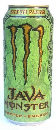 Java Monster Coffee + Energy Drink, Irish Blend, 15-Ounce Cans (Pack of 12) by…