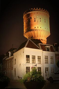 Water tower by //Rutger, via Flickr