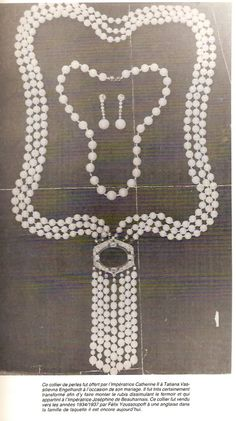 Royal Jewels of the World Message Board: Yusupovs jewelry album
