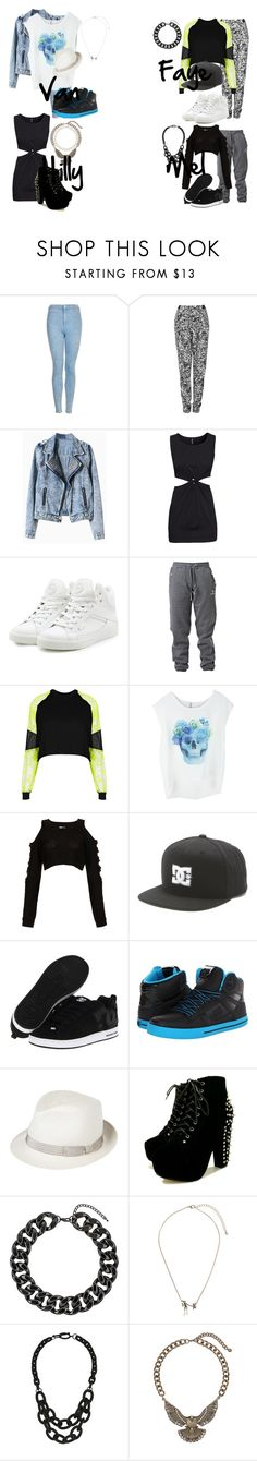 """""""Cheetah's Performing in The O2 Arena in London"""" by ines-green ❤ liked on Polyvore featuring Topshop, H&M, Pastry, Hummel, The Ragged Priest, DC Shoes and Anthony Peto"""