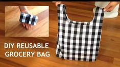 Diy Bags Patterns, Sewing Patterns, Diy Reusable Bags, Diy Bags Tutorial, Patchwork Quilt, Diy Tote Bag, Small Sewing Projects, Creation Couture, Purse Crossbody