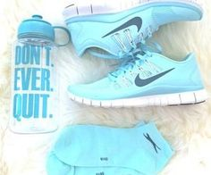 #blue #sneakers #cute #dontquit