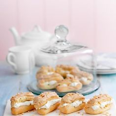 Mini Coffee and Hazelnut Eclairs | Good Housekeeping