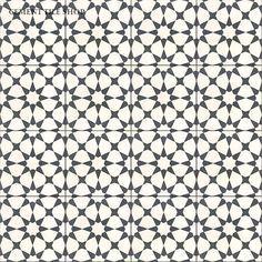 Cement Tile Shop - Encaustic Cement Tile Agadir White - $6.40 per 8x8 tile