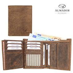 ALMADIH Leder Portemonnaie P11 hochformat echtes Rindsleder braun Vintage - 18 Kartenfächern Geldbörse Herrenbörse Herren Geldbeutel Brieftasche Rustikal Used Look minadesign-de http://www.amazon.de/dp/B009U9RDIE/ref=cm_sw_r_pi_dp_PUv6wb05CWWQR