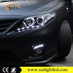 Car 12V LED Daytime Running Lights For Corolla DRL 2011-2013 Toyota Spare Parts