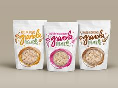 Graphic design experiment for Granola packaging. Cereal Packaging, Chip Packaging, Biscuits Packaging, Fruit Packaging, Cookie Packaging, Beer Packaging, Chocolate Packaging, Food Packaging Design, Packaging Design Inspiration