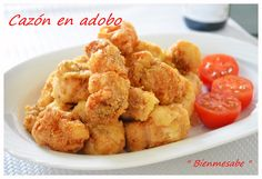 Spanish Cuisine, Spanish Food, Seafood Dishes, Fish And Seafood, Onion Rings, Summer Recipes, Cauliflower, Snack Recipes, Vegetables