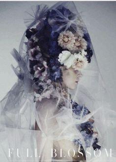 "Pille T in ""Full Blossom"" by Lamb for Harper's Bazaar Honk Kong March 2013"