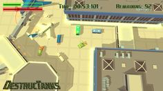 Destructanks 1.0.0 Destructanks is a low-poly destruction game where you control a tank with one mission: destroy everything! Blast your way through 10 missions, ranging from suburban neighborhoods to airports. #videogames #pcgames