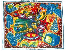Concepteur de l'Art modeste, Herve di Rosa fonde en l'an 2000, à Sète, le Musée international des arts modestes (MIAM), où il expose de nombreux artistes venus du monde entier et crée des expositions qui questionnent les frontières de l'art contemporain. Depuis 1981, son œuvre a fait l'objet de plus de 200 expositions personnelles et est présente dans d'importantes collections publiques et privées en Europe, en Amérique et en Asie. Il vit et travaille actuellement à Lisbonne