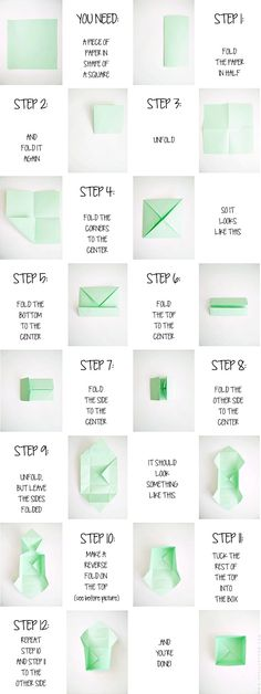 diy origami box - designoform.com   Here is a nicely done tutorial of the origami box I've been making