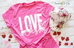 Love Like Jesus - Red / XL