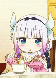 (づ。◕‿‿◕。)づ — ianime0: Kobayashi-san Chi no Maid Dragon ||...