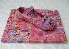 Ballet Shoe (Gelli) Collage - Original Mixed Media - Pink Pastels - Ballerina - Ballet - Dance - 8 X 10. $75.00, via Etsy.