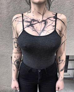 20 Cool tattoo models - Tattoos of Hannah Bad Tattoos, Celtic Tattoos, Sexy Tattoos, Body Art Tattoos, Girl Tattoos, Sleeve Tattoos, Tatoos, Wolf Tattoos, Animal Tattoos