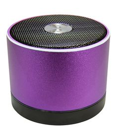 Look at this #zulilyfind! Purple Power Jam Portable Bluetooth Speaker by Battery On The Go #zulilyfinds