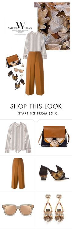 """Fall 2016: Trendy and chic"" by ecletica-and-chic ❤ liked on Polyvore featuring Monse, Chloé, Marni, Sanayi 313, Linda Farrow and Anton Heunis"