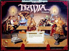 El Descanso del Escriba: AD&D 2ª Trivia Game (1991)