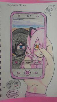 Zane~Chan Selfie (inspired by @ketanadukanei) by JosyN