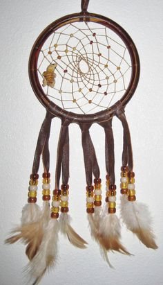 Gecko Dream Catcher  5 inch by moonshadowgift on Etsy, $13.50