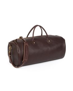 Leather Duffel Large
