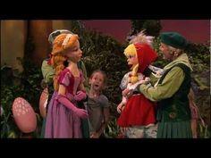 Assepoester en Roodkapje zingen het Prinsessenlied - YouTube